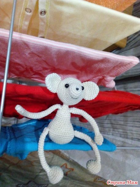 Мышка крючком, бесплатное описание