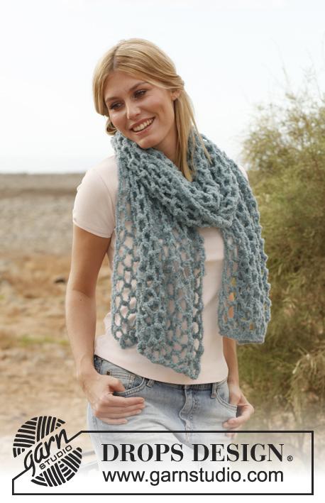 Схема вязания шарфа для начинающих