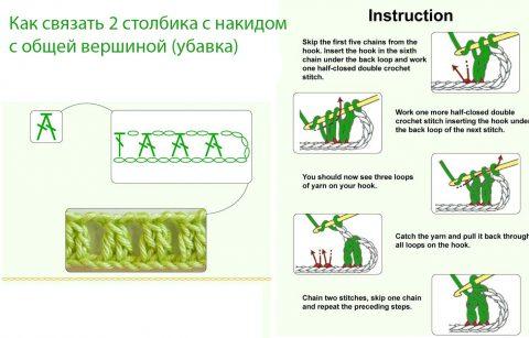 Схемы вязания колье Бохо