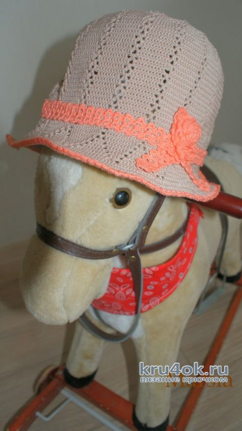 Летняя шляпа для девочки. Работа Marsia Sia вязание и схемы вязания