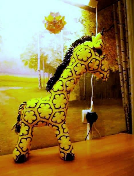 Мастер - класс, как связать жирафа крючком
