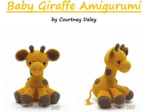 Амигуруми жираф крючком