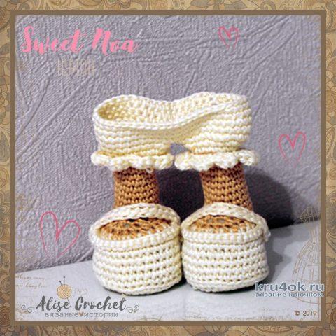 Куколка Sweet Noa, связанная крючком. Работа Alise Crochet вязание и схемы вязания
