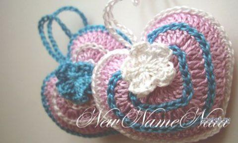 Вязаные крючком сердечки. Работа NewNameNata вязание и схемы вязания
