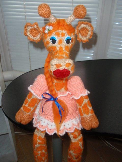 Жирафа Жоржетта, описание работы