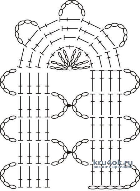 Косынка и кофточка в технике брюггское кружево. Работы Любови вязание и схемы вязания