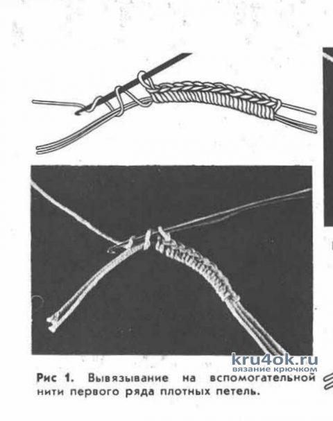 Платье Роза пустыни в технике ирландское кружево вязание и схемы вязания