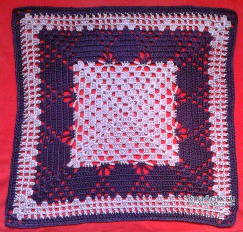 Чехлы для подушки. Работы Галины Коржуновой вязание и схемы вязания
