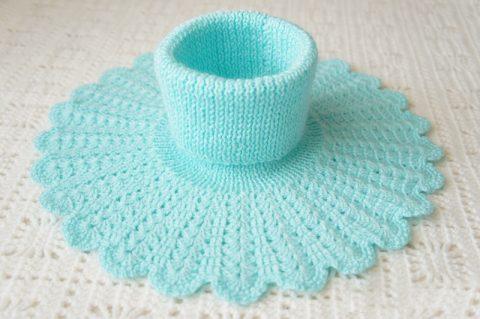 вязание манишки для детей