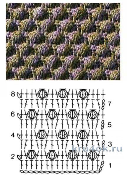 Схемы вязания свитера крючком