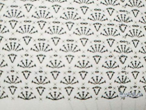 Вязаная сумочка-клатч с объемным цветком. Работа Светланы Лосевой вязание и схемы вязания