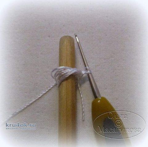 Жилет для девочки в технике ирландское кружево. Работа Марии Казановой вязание и схемы вязания