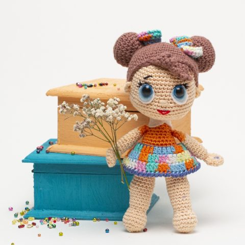 Кукла ЛОЛ крючком