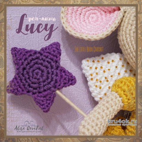 Мышка - фея Люси крючком. Работа Alise Crochet вязание и схемы вязания