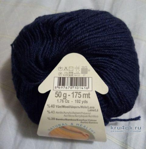 Вязание манишки крючком. Работа Ольги вязание и схемы вязания