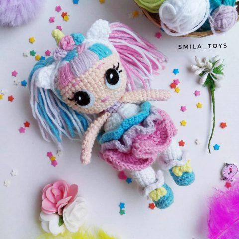 Кукла Лол единорожка