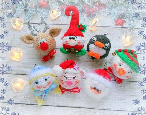 Новогодние игрушки от Татьяны Ерофеевой