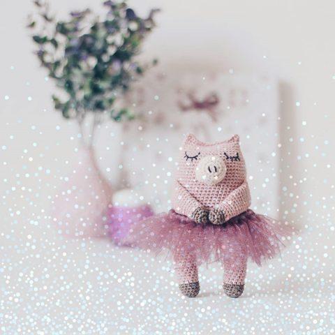 Свинка балерина Софи - символ 2019 г. своими руками