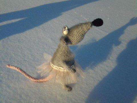 Крыска Шунечка - аторская игрушка Миланы Гуськовой(символ 2020 года)