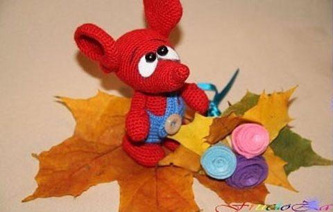 Осенний мышонок Сеня