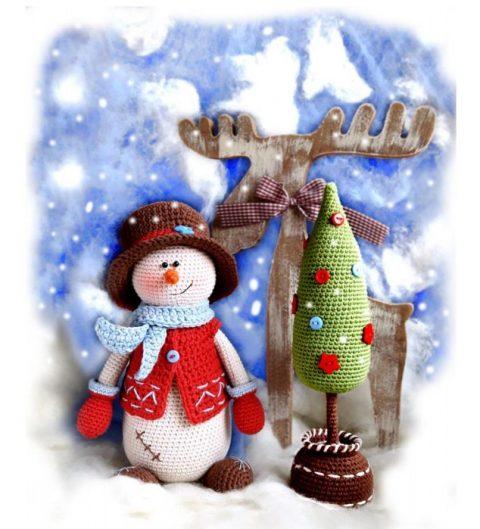 Снеговик Кевин и его ёлка