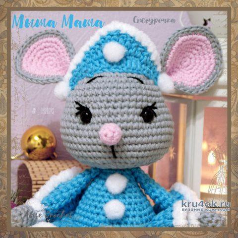 Кокошник для Мыши Маши. Работа Alise Crochet вязание и схемы вязания