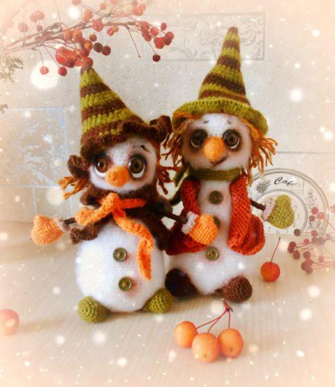 Снеговик - Дурашка и его подружка