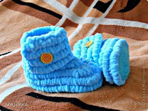 Сапожки изAlize Baby Set Marifetli