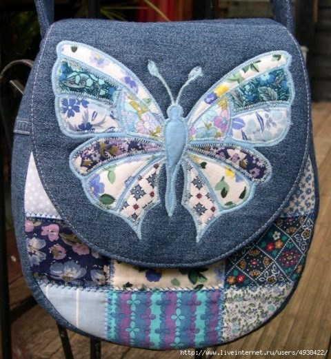 классные сумки из старых джинс своими руками