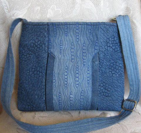 Фото и идеи сумок из старых джинс