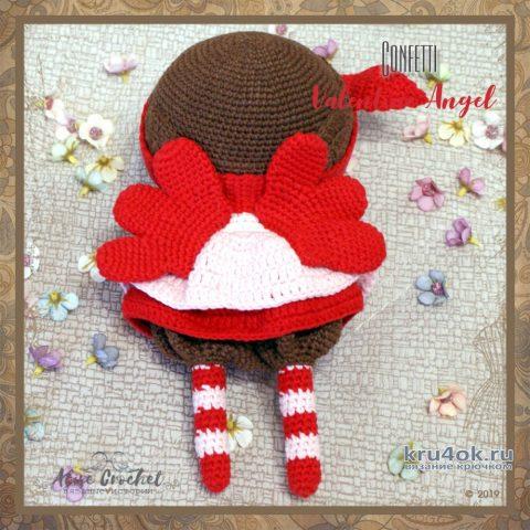 Кукла амигуруми Valentine Angel. Работа Alise Crochet вязание и схемы вязания