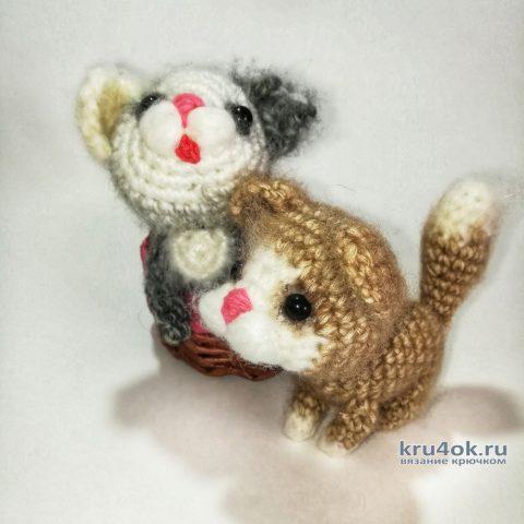 Вязанный крючком котенок Гаврюша, описание и видео мастер-класс вязание и схемы вязания