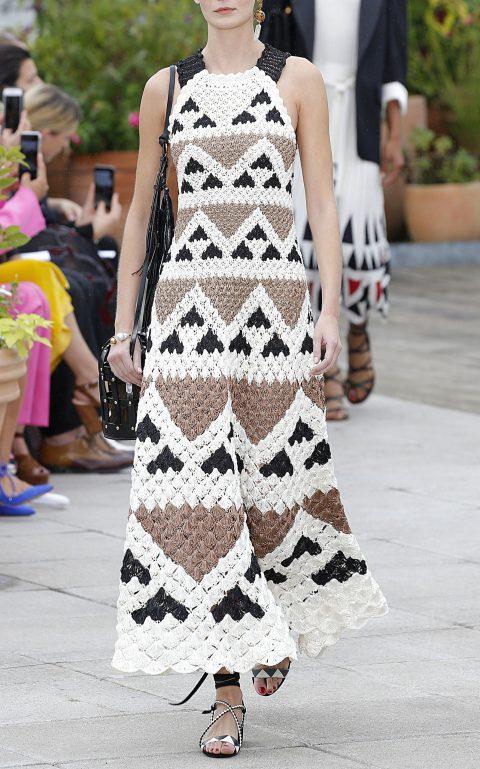Платье из коллекции Oscar de la Renta