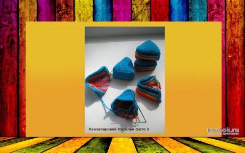 Тортик крючком. Работа Канзапаровой Натальи вязание и схемы вязания