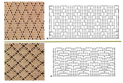 Схемы вязания джемпера крючком