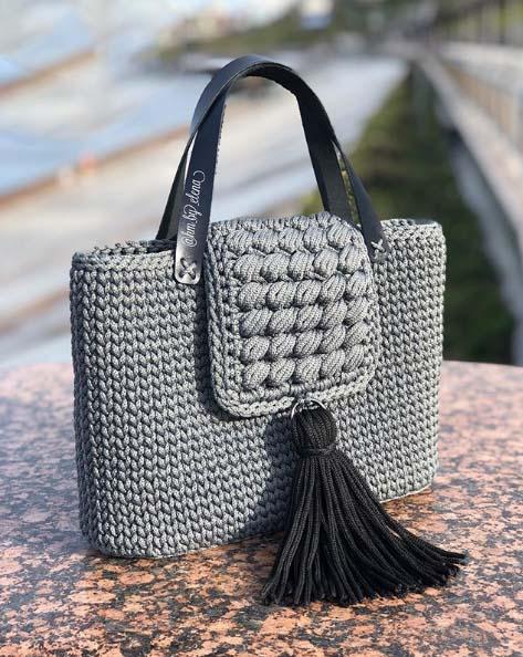 Летние сумки, связанные крючком