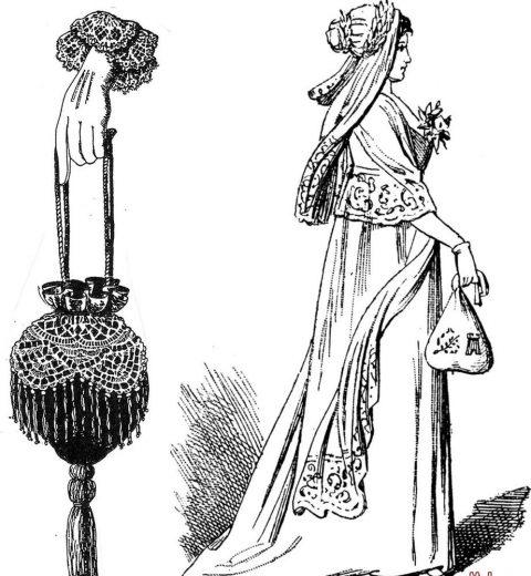 Что такое ридикюль, с чем его носить