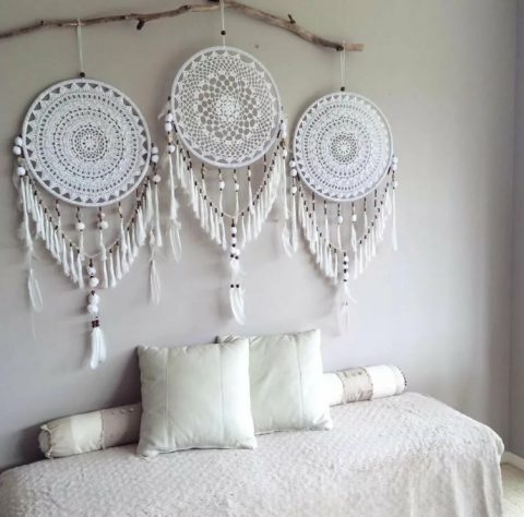 Декор из кружева для дома своими руками