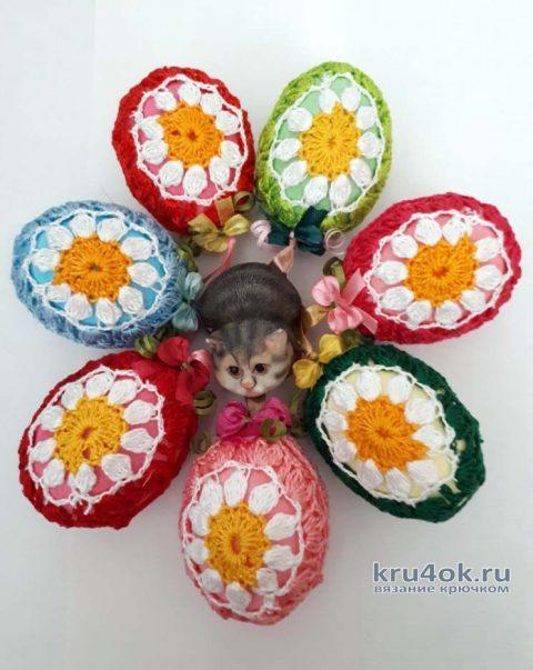 Декоративное яйцо - украшение к Пасхе. Работа Фланденой Татьяны