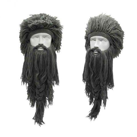 классная шапка с бородой