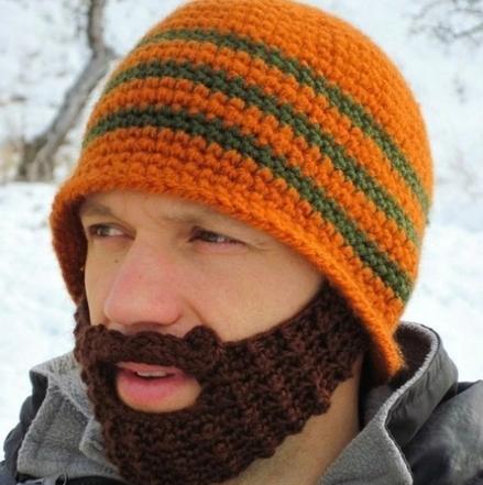 Бородатые шапки - идеи для создания
