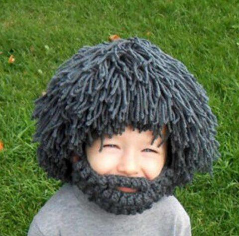 вяжем бородатую шапку