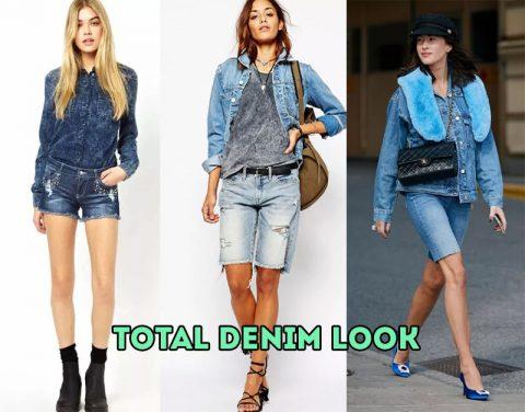 Total denim look - тренд 2020 года!