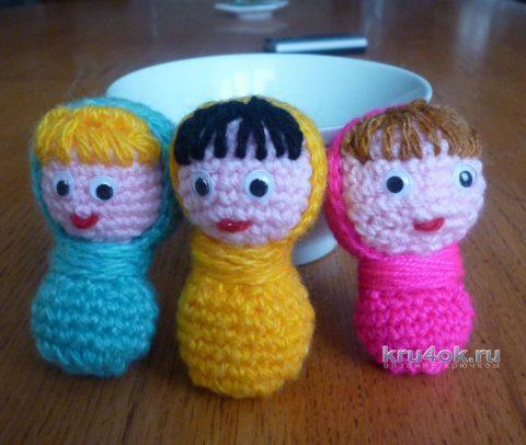 игрушки амигуруми из остатков пряжи