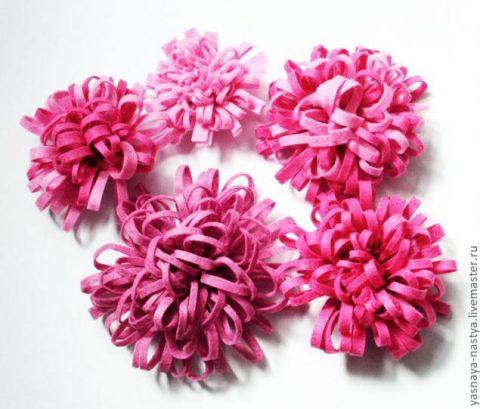 Простое и красивое украшение - цветок из фетра