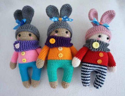 Зайки - куколки