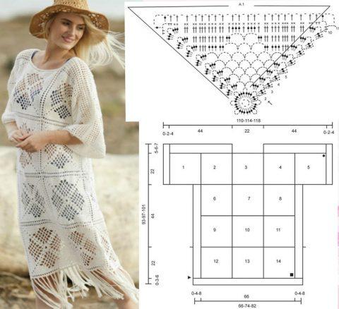 Из этих же мотивов можно связать платье: