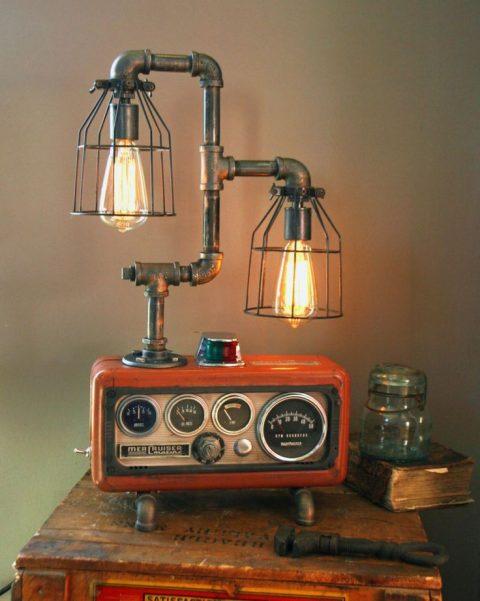 креативный светильник своими руками