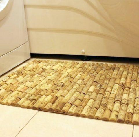 необычный материал для ковриков своими руками