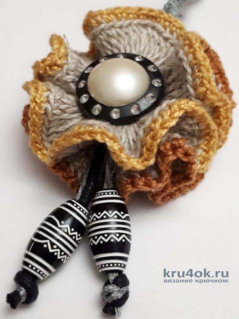 Сумка крючком, мастер - класс от Фланденой Татьяны вязание и схемы вязания